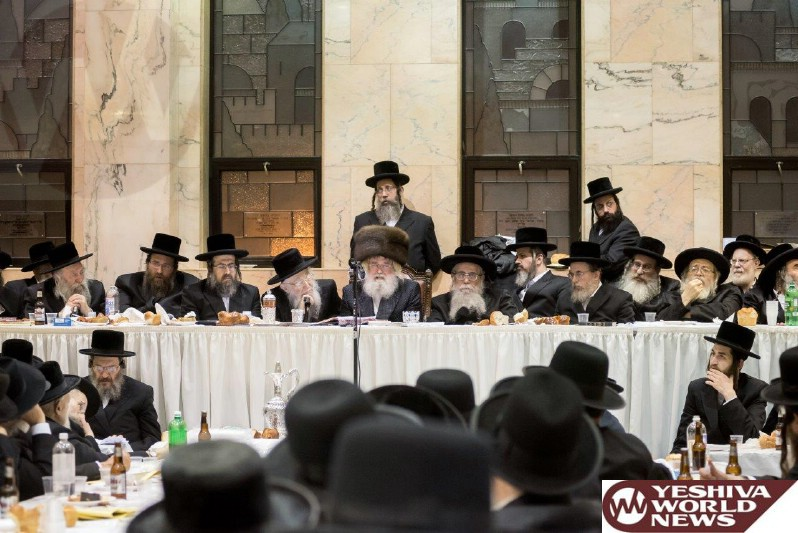 Photo Essay: Yartzheit Of The Minchas Elazar of Munkatch By The Munkatch Rebbe (Photos By Meir Haltovsky - JDN)