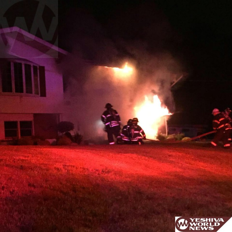 PHOTOS - Monsey: Family Escapes Early Morning Fire That Destroyed Home