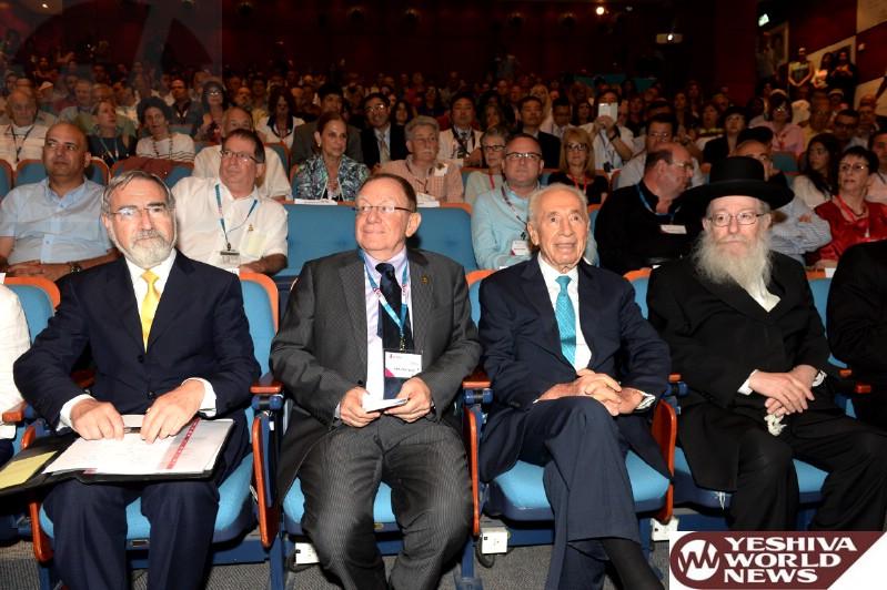Litzman, Peres, Prof. Beyar, Rabbi Lord Jonathan Sacks