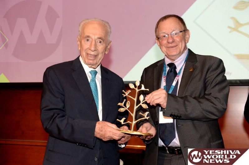 Shimon Peres Rambam Award Prof. Rafi Beyar