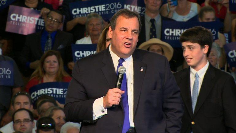VIDEO: Christie Promises Blunt Campaign As He Enters 2016 Contest
