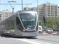 Jerusalem Light Rail Strike on Sunday Morning
