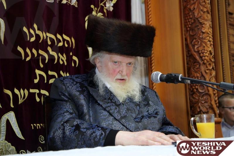 Hagaon HaRav Moshe Sternbuch's Yeshiva Not Moving To Beit Shemesh As Planned