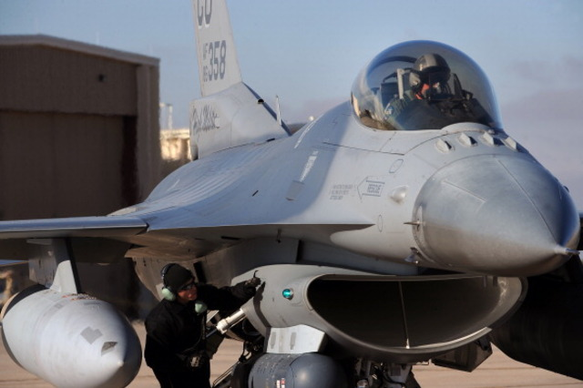 F-16 Jet, Small Plane Collide Midair Over South Carolina