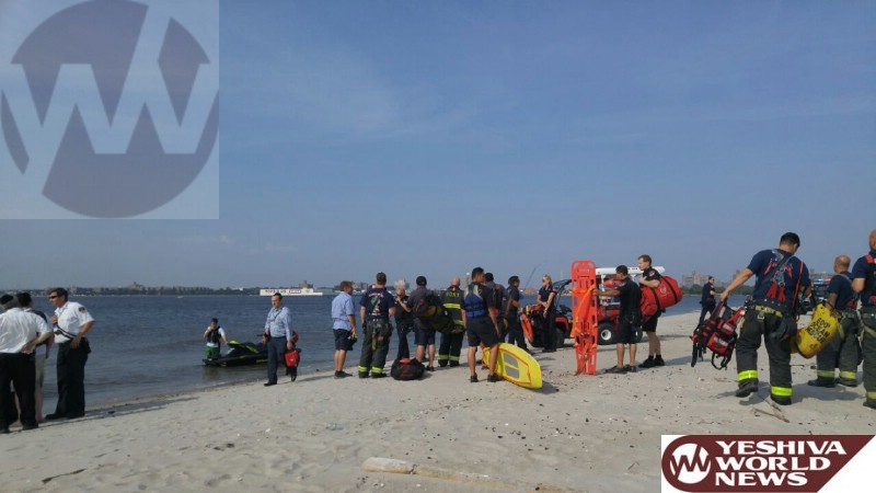 Photo Essay: Minor Boating Accident With No Injuries At Sea-Gate Prompts Large Response From Hatzolah, FDNY, NYPD
