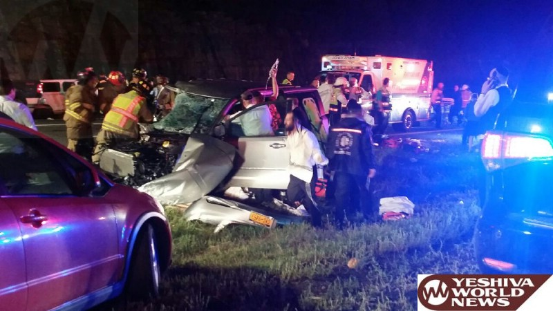 VIDEO AND PHOTOS: Two Victims Airlifted From Serious Crash On Route 17 And Exit 114 [UPDATED]