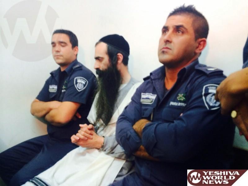 Schlisel Arraigned and Remanded for 12 Days by Jerusalem Court
