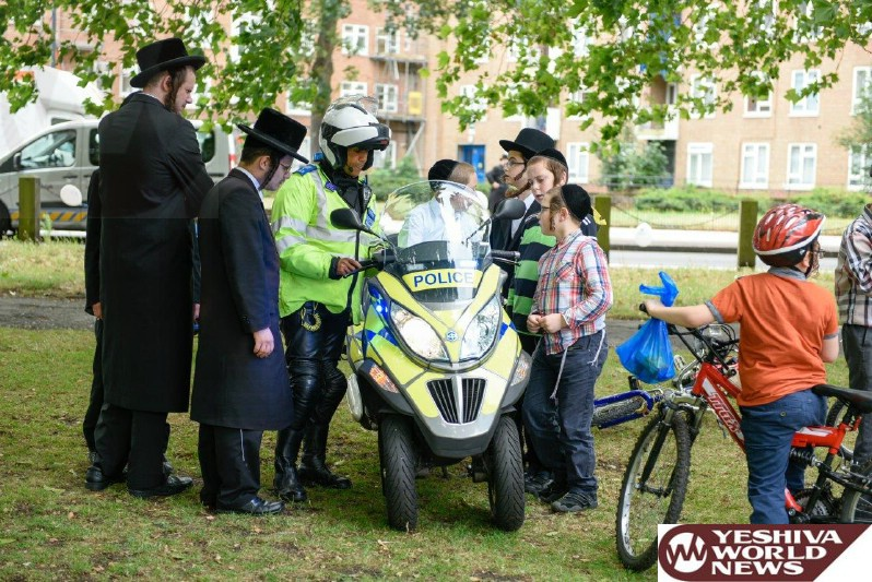 Photo Essay: London Shomrim Bike Registration and Safety Event, Attended by Many Politicians and Community Leaders (Photos by JDN)