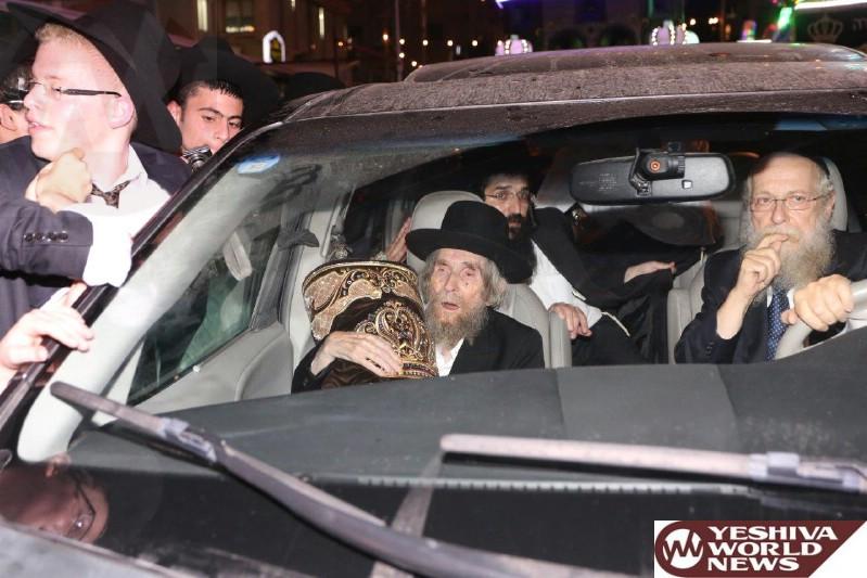 Photo Essay: Hachnosas Sefer Torah To Yeshiva Atetres Yosef in Bnei Brak (Photos By Shuki Lerer And Shmulik Weinreich P360 - JDN)
