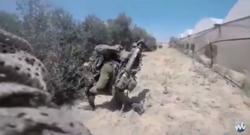 WATCH: Raw Footage from Helmet Cam of Fallen IDF Soldier While Battling in Rafiach During Operation Protective Edge