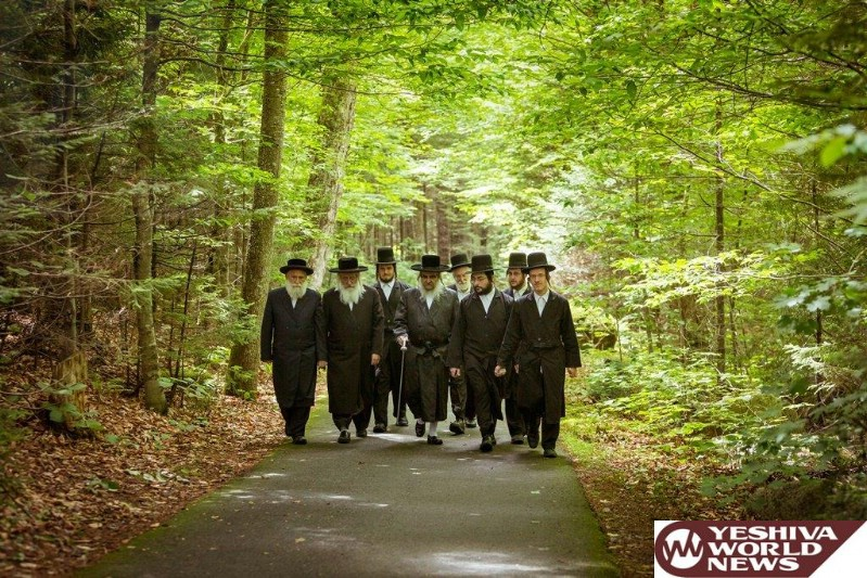 Photo Essay: Satmar Rebbe From Kiryas Yoel On Vacation In New Hampshire (Photos By JDN)
