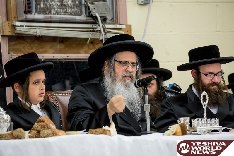Photo Essay: Bar Mitzvah For a Grandson of The Satmar Rebbe Of Williamsburg (Photos By JDN)