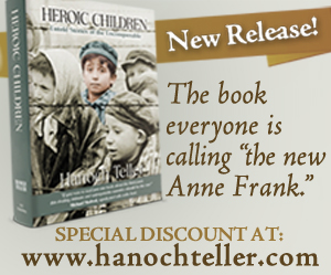 Rabbi Hanoch Teller Releases the One-Book MUST Read on the Holocaust