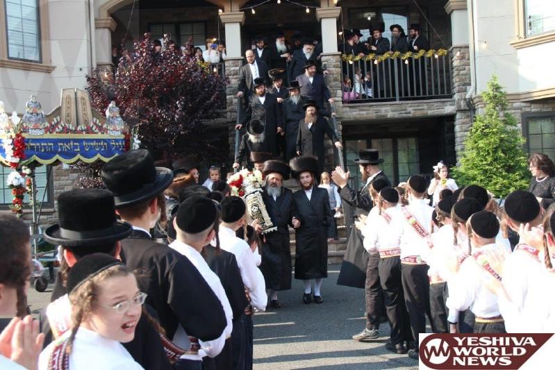 Photo Essay: Hachnosas Sefer Torah To The Grossvardein Shul in Monsey (Photos By JDN)