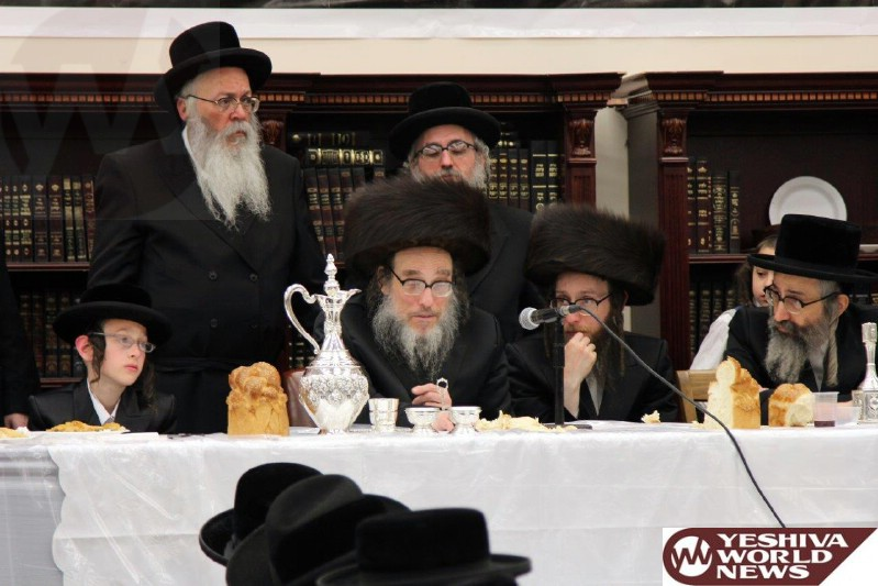Photo Essay: Bar Mitzvah For Grandson of The Pupa Rebbe in Pupa Camp (Photos By JDN)