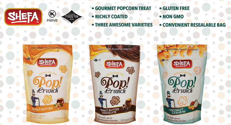 New Product From Shefa Popcrunch - Naturally Delicious