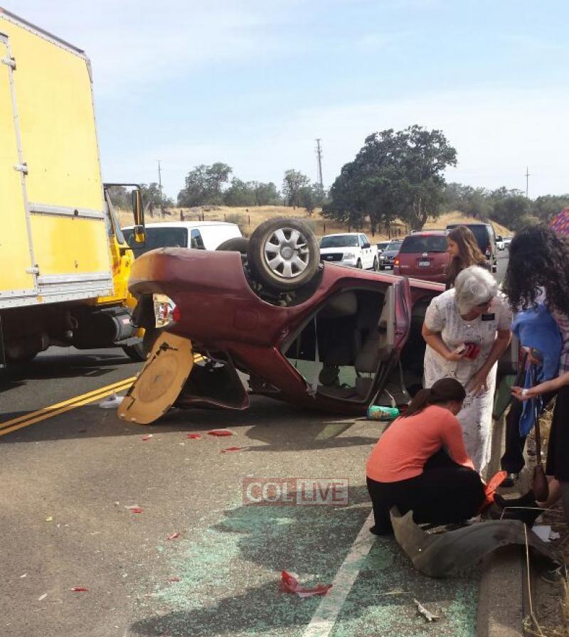 Miracle: Staff Of Camp Gan Yisroel In California Survive Serious Crash