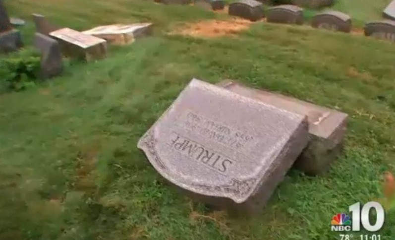 More Than 100 Headstones Toppled at Historic Jewish Cemetery in Philadelphia