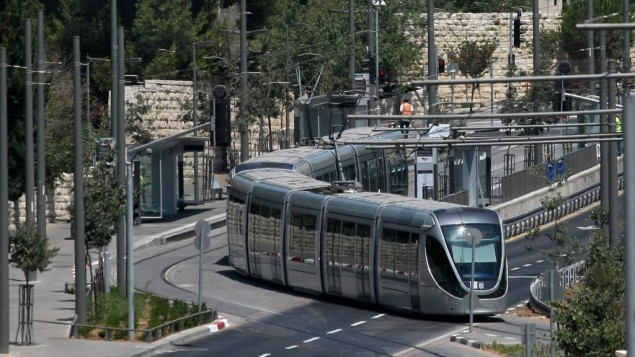 Jerusalem Light Rail Schedule for Jerusalem Day | Yeshiva World News