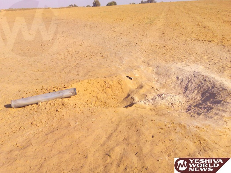 Rockets Fired Earlier on Erev Shabbos Were Likely Launched from Sinai