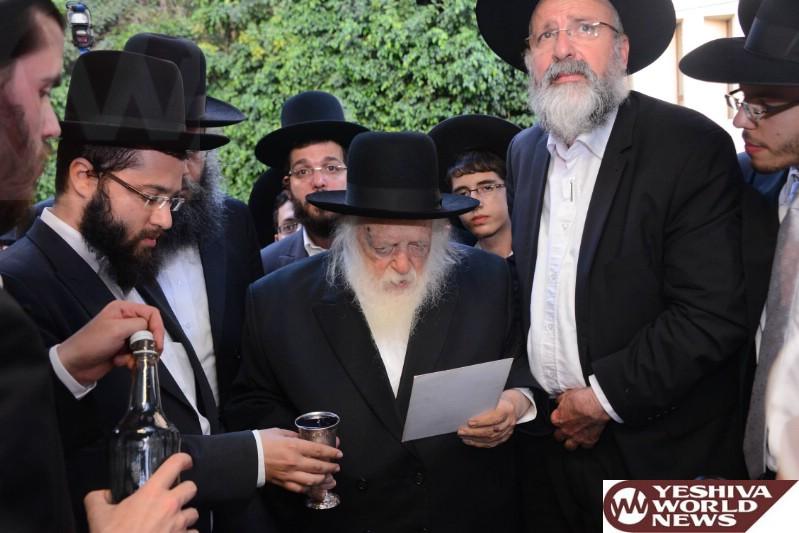 Photo Essay: Wedding For Grandson of Hagon HaRav Chaim Kanievsky (Photos by JDN)
