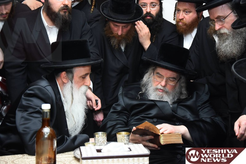 Photo Essay: Belz Rebbe Visiting The Machnovka Rebbe (Photos By JDN)