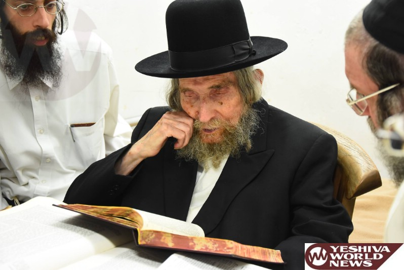 Maran HaRav Shteinman Prohibits Visiting Water Parks