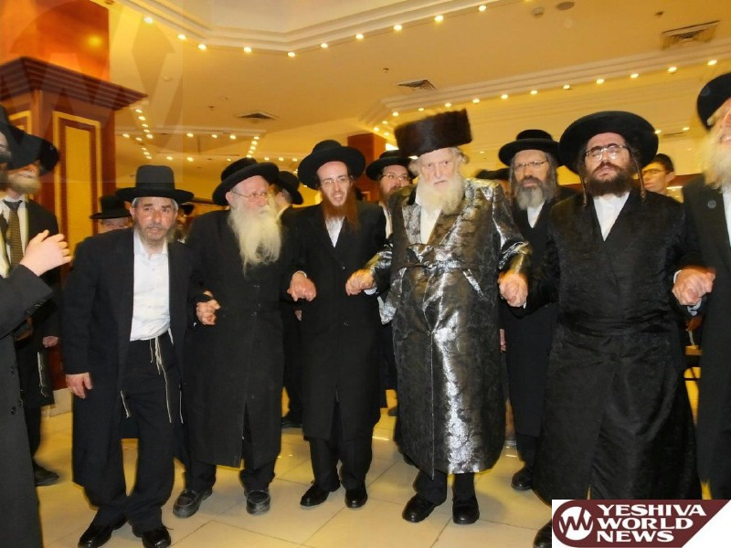 Photo Essay: Wedding For Grandson of Hagon HaRav Moshe Sternbuch, Ravad Eida HaChareidis