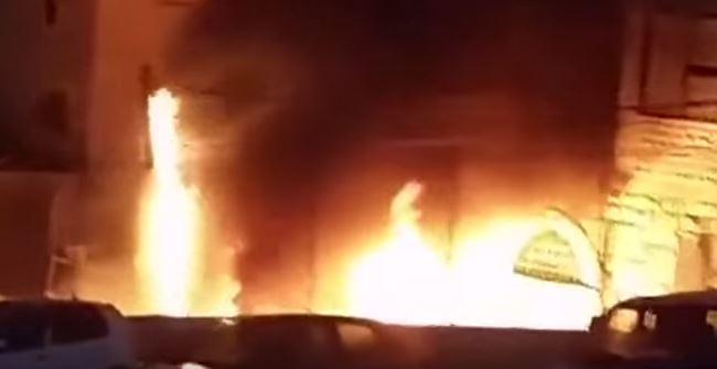 Border Policeman Injured in Jerusalem Firebomb Attack