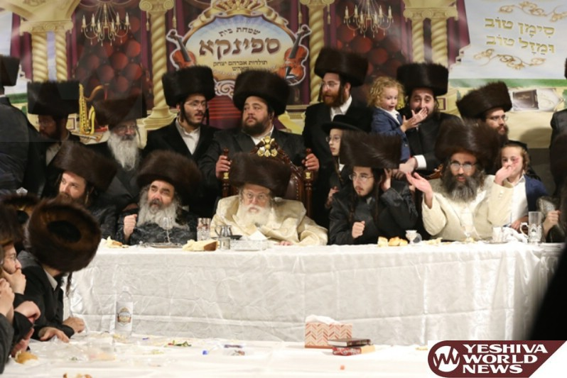 Photo Essay: Forshpiel for son of the Spinka Monsey Rebbe and Grandson of the Toldos Avrohom Yitzchok Rebbe in Airmont (Photos By JDN)