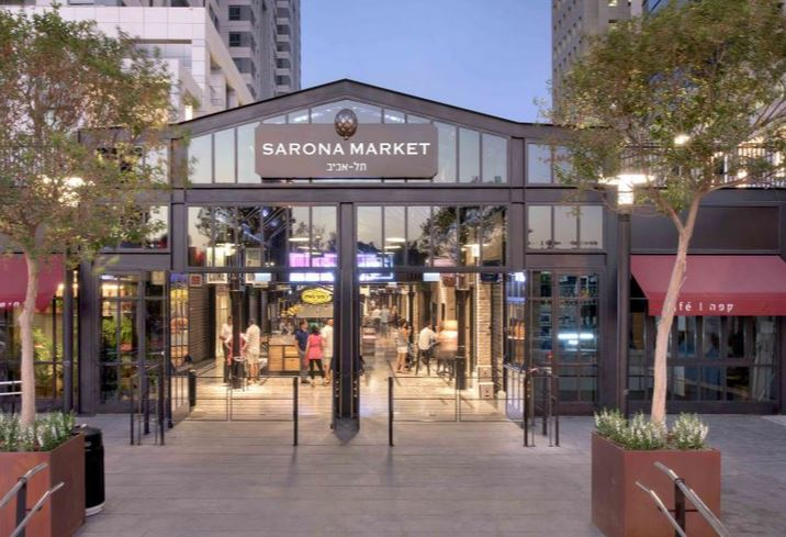 Sarona Market Cancels Fine Levied Against Store That Closed on Shabbos