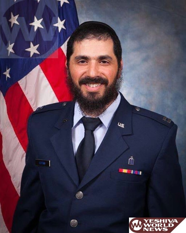 First Bearded Chaplain in U.S. Air Force Now First Bearded Officer