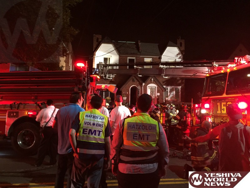 Marine Park: Toddler Seriously Injured In House Fire