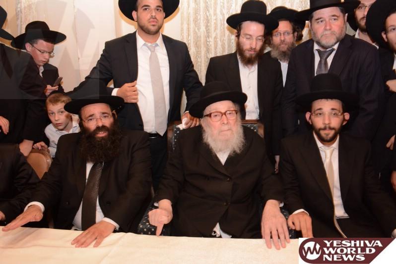 Photo Essay: Chasunah For Grandson of Hagaon HaRav Nisim Karelitz (Photos By JDN)