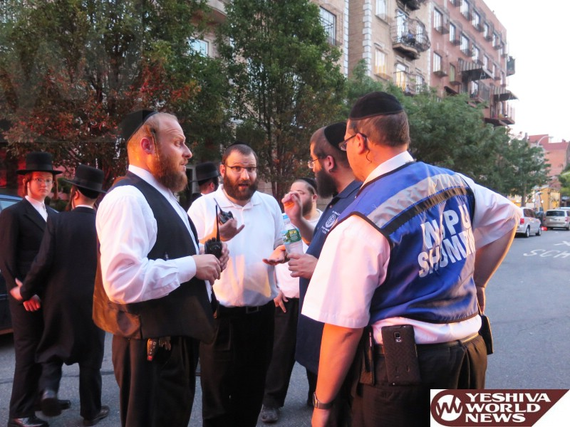 Photo Essay: Williamsburg Shomrim Helping Out In This Weeks Power Outage In The Neighborhood (Photos By JDN)