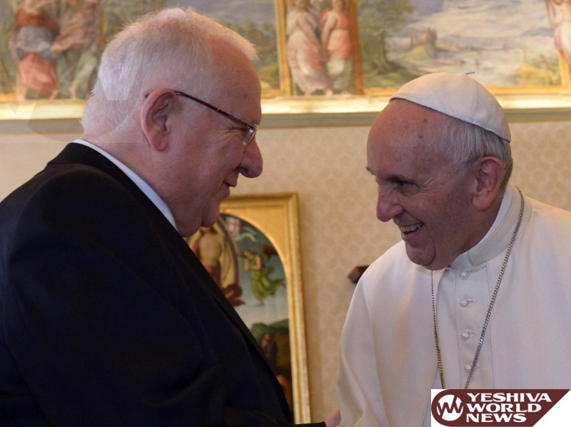 President Rivlin's Visit to the Vatican and Rome