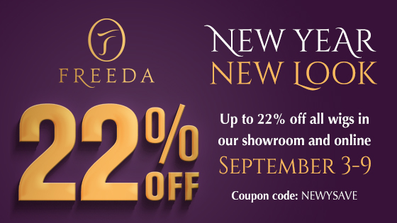 New Year, New Look - Enjoy up to 22% Off Freeda WIGS