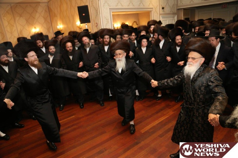 Photo Essay: Wedding for Daughter of the Aleksander Rebbe (Photos By Heshy Rubinstein - JDN)