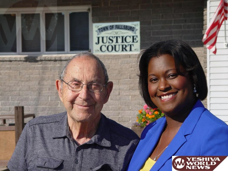 Amanda Ward Endorsed By Retired Fallsburg Judge Isaac 'Yits' Kantrowitz