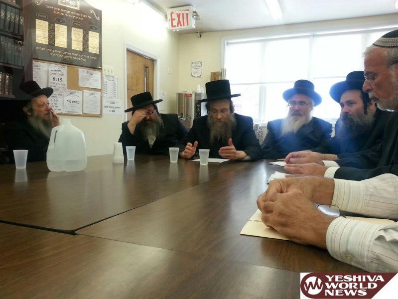 HIkind Meets With Community Mosdos To Discuss Kapparos