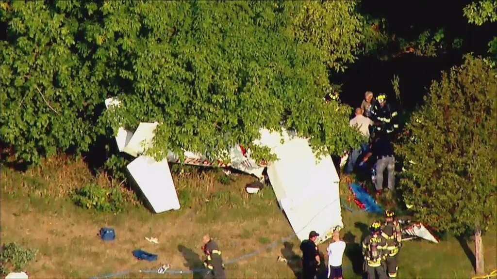 Frum Pilot On Coast Guard Auxiliary Patrol Injured After Plane Crashes In New Jersey Field