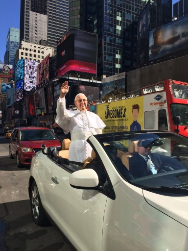 Wax Figure of Pope Causes Confusion in NYC
