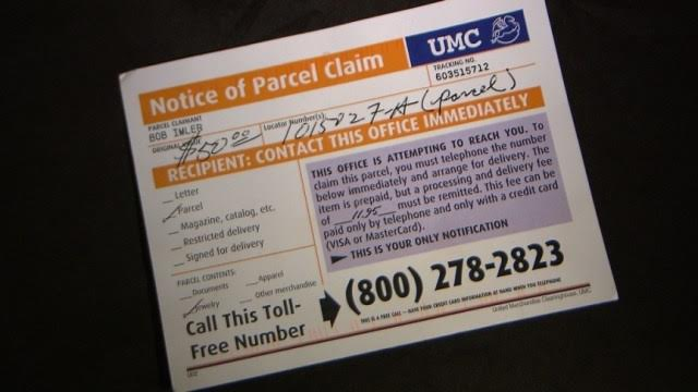 Sullivan County Sheriff Warns Of Post Card Scam