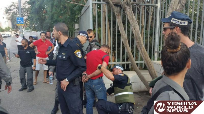 Attempted Vehicular Terror Attack in Yerushalayim - Terrorist In Custody [UPDATED 16:15 IL]