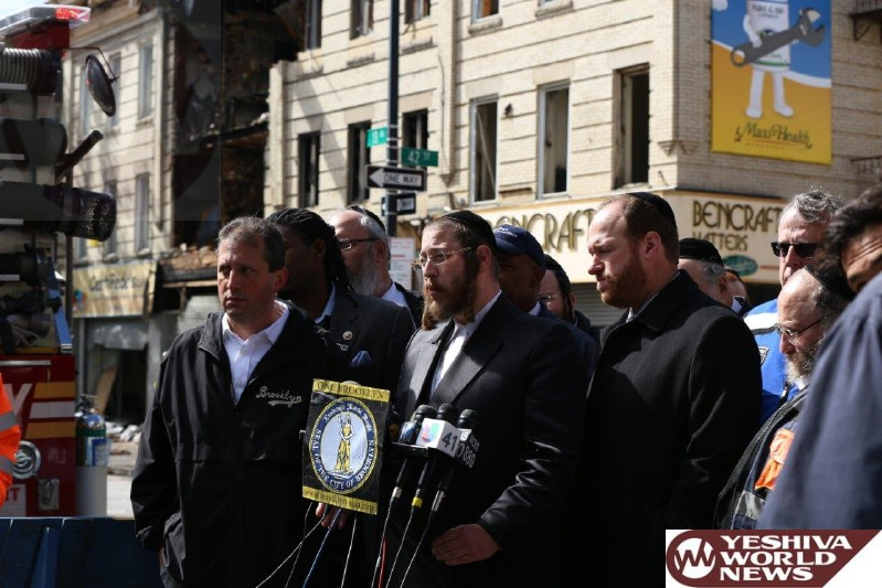 Boro Park: Additional Information And New Traffic And Street Closure Update on 13th Avenue At Scene Of Building Explosion