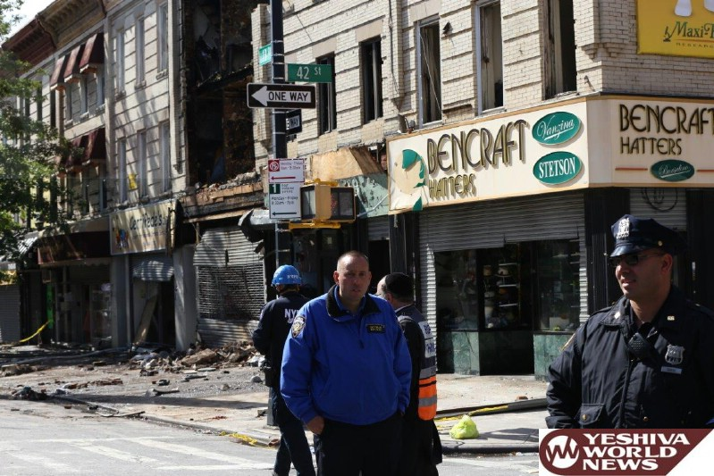Boro Park: Update on Traffic and Street Closures at Site of Building Explosion On 13 Avenue