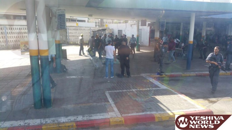 Attempted Stabbing Attack in Afula CBS [UPDATED 1:37 PM IL]