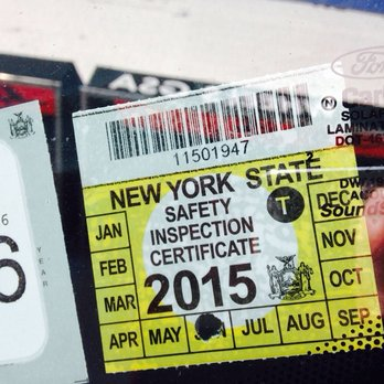 Authorities Seize Hundreds Of Fake Vehicle Inspection Stickers in NYC