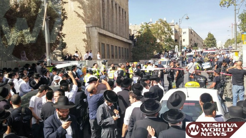 VIDEO AND PHOTOS: Terror Attack on Malchei Yisrael St. One Dead, Others Serious [UPDATED 10:38AM IL]
