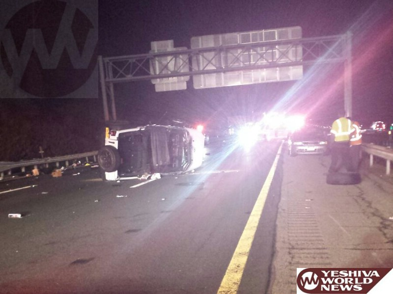 NYPD Officer Critically Injured In Crash On NYS Thruway; Was Ejected From Vehicle